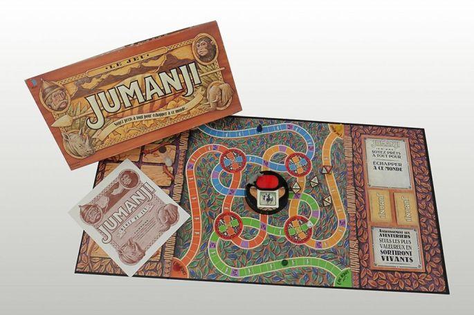 L\'exposition évoque les films où les jeux et jouets sont rois, comme Jumanji