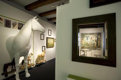 L\'espace Ferme-Sapin-Cheval du musée