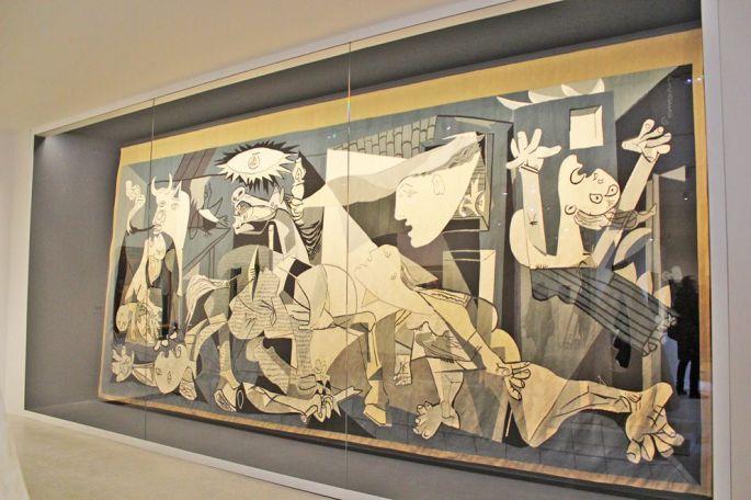 Guernica de Picasso, version tapisserie