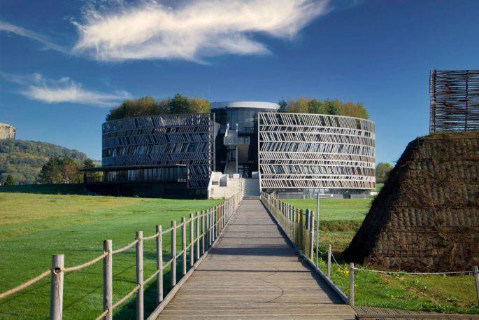 MuséoParc Alésia et son bâtiment à l\'architecture circulaire