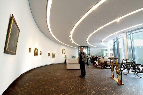 L\'intérieur du Musée pour l\'Art et la Technique du 19e siècle