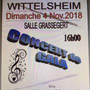 Musique Municipale de Wittelsheim : concert de gala