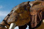 L\'éléphant de l\'Ile des Machines à Nantes