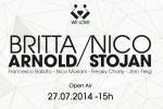 nico stojan et britta arnold @ we love sunday