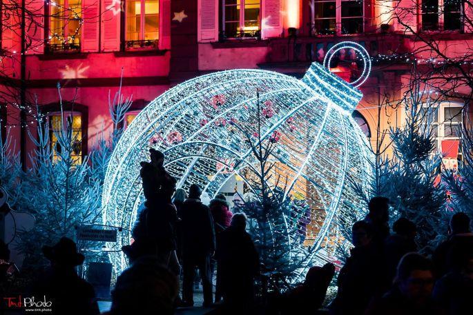 Les illuminations de la ville d\'Haguenau pour Noël
