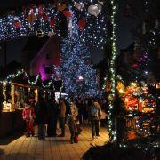 Noël 2012 à Thann : Marché de Noël