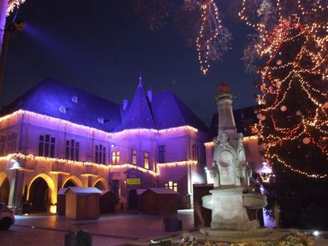 Noël 2013 à Ensisheim : Fenêtres de l'Avent