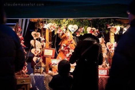 Les stands du Marché de Noël de Kertzfeld