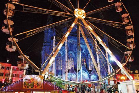 La Grande Roue du Marché de Noël de Mulhouse
