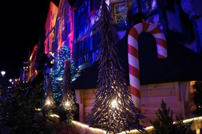 Le Sentier de lumières à Saverne avec ses décorations et illuminations