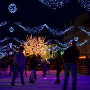 Noël 2017 à Mulhouse : La patinoire enchantée