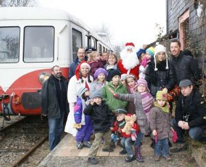Noël 2015 au Train Thur-Doller : Train de Noël