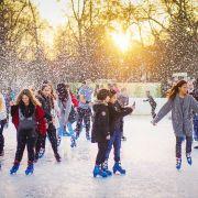 Noël 2019 à Colmar : La patinoire de Noël
