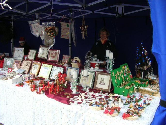 Les stands du Marché de Noël de Fegersheim