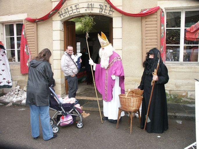 Le Saint Nicolas accueille les enfants de Ferrette