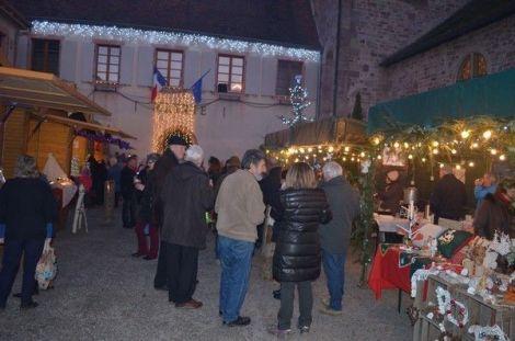 Noël 2016 à Lautenbachzell : Marché de Noël de montagne