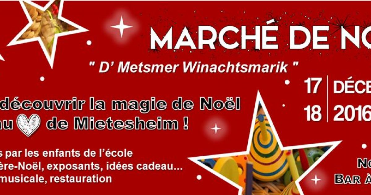 No l 2016 mietesheim march de no l - Marche de noel thann ...