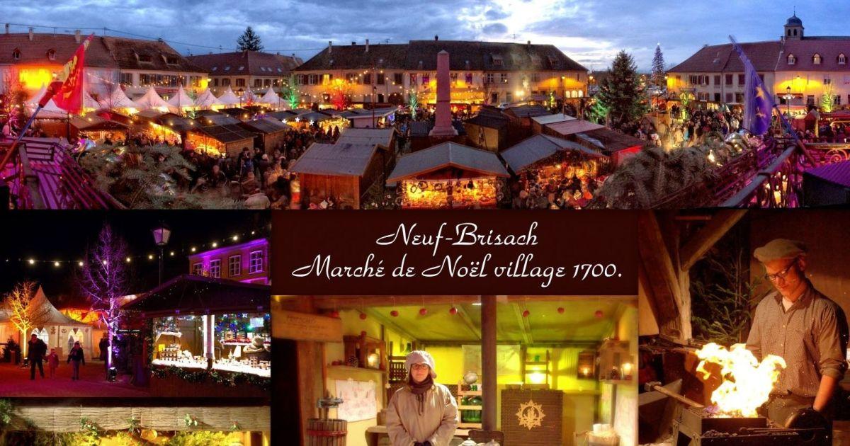 No l neuf brisach march de no l d 39 antan village 1700 - Marche de noel mulhouse 2016 ...
