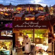 Noël 2018 à Neuf-Brisach : Marché de Noël d\'Antan - Village 1700
