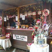 Noël 2018 à Obernai : Stand de Noël de Terre sans frontière