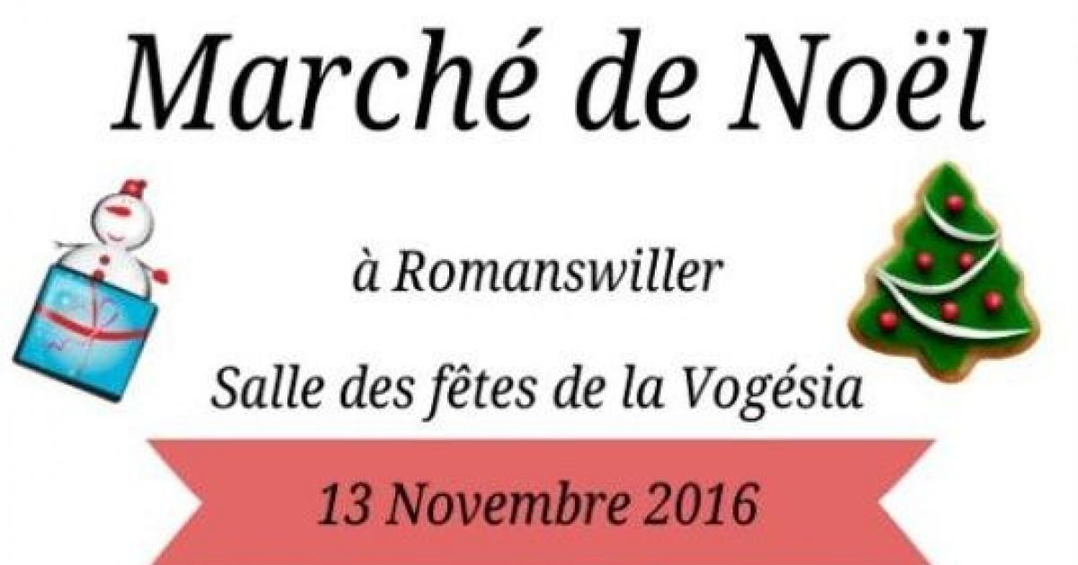 No l romanswiller march de no l artisanal - Marche de noel thann ...