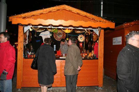 Le marché de Noël de Saint-Louis