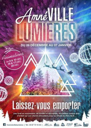 Noël 2017 à Amnévile : Amnéville Lumières