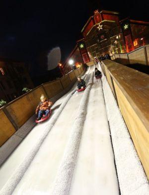 Noël à Belfort : Le Mois Givré - 3 des 5 couloirs de luge !