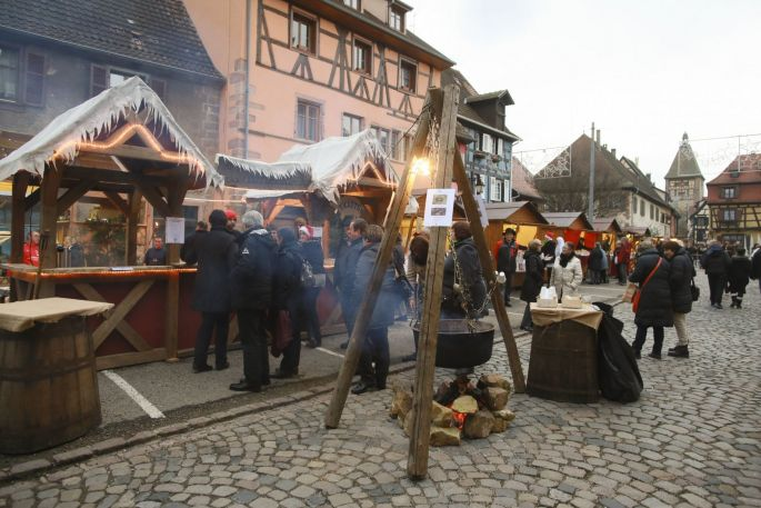 Noël 2017 à Bergheim : Marché de Noël