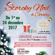 Noël 2017 à Cernay : Storcky Noel