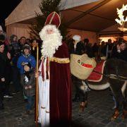 Noël 2017 à Charleville-Mézières : Arrivée du Saint-Nicolas