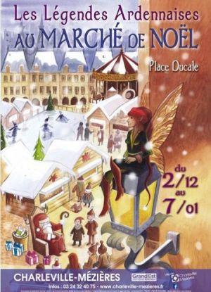 Noël 2017 à Charleville-Mezières : Marché de Noël artisanal «Arts et saveurs»