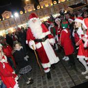 Noël 2017 à Charleville-Mézières : Parade du Père Noël