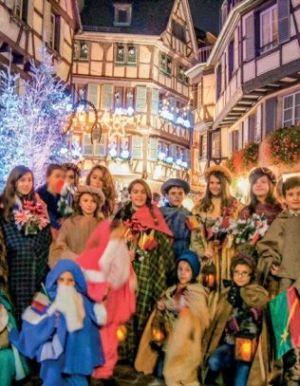 Noël 2017 à Colmar : La petite fille aux allumettes