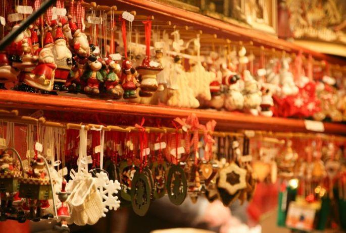 Noël à Colmar : Marché de Noël de la Place de l'Ancienne Douane