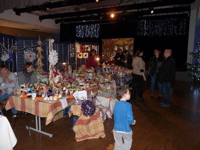 Noël 2017 à Ernolsheim-Bruche : Marché de l\'Avent