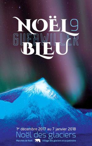 Noël 2017 à Guebwiller : Noël Bleu 9 / Noël des Glaciers