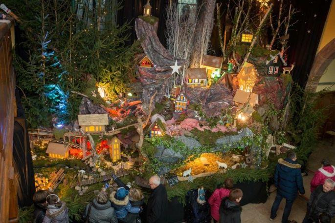 Noël 2017 à Hengwiller : Marché de Noël