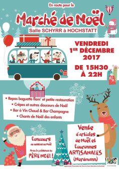 Noël 2017 à Hochstatt : Marché de Noël