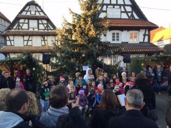 Noël 2017 à Hunspach : Marché de Noël