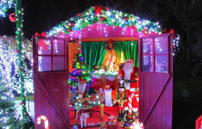 Noël 2017 à Lantéfontaine : La Maison Illuminée des Przybylski