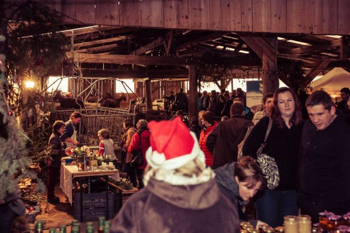Noël 2017 à Masevaux : Marché paysan de Noël