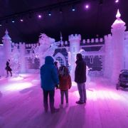 Noël 2017 à Metz : Festival de sculpture «Féerie de glace»