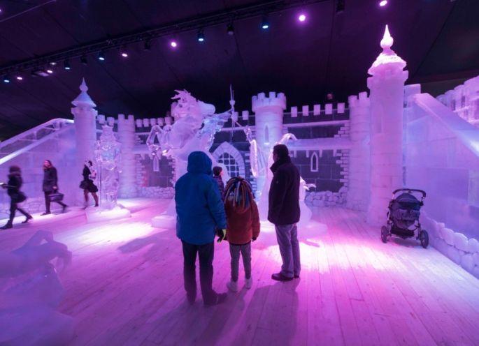 Noël à Metz : Festival de sculpture «Féérie de glace»