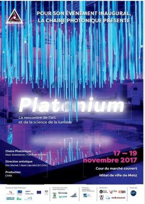 Noël 2017 à Metz : Inauguration avec «Platonium»