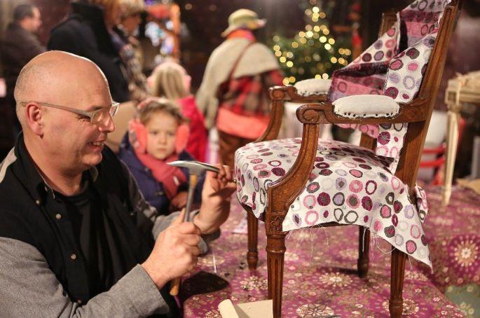 Noël 2017 à Mulhouse : Chalet de la création
