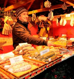 Noël à Munster : Marché de l\'An Neuf