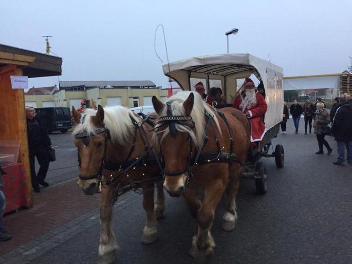 Noël 2017 à Seltz : Marché de Noël