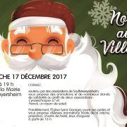 Noël 2018 à Souffelweyersheim : Noël au village