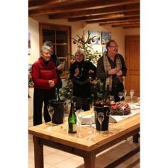 Une ambiance festive à la cave Schoenheitz pour Noël